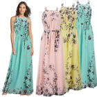 Summer Womens Maxi Boho Dresses Floral Beach Long Evening Cocktail Party Wedding