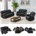 Felonious Motion Sofa Loveseat Recliner Living Room Bonded Leather Furniture