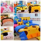 "New Kids""zoo animal "" Printed Bed Quilt Cover Cotton Set collection 7 designs"