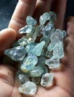 100% Natural Light Blue Topaz Specimens Facet Rough