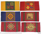 BOLSTER PILLOW COVERS ASSORTED DESIGNS HAND BLOCK PRINTED 100% COTTON NEW