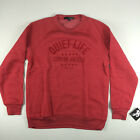 The Quiet Life City of Angels Crew Neck Sweat Shirt New Red S M