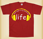 LAST NIGHT A DJ SAVED MY LIFE MENS LADIES UNISEX- FUNNY T-SHIRT DESIGN