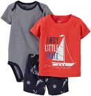 NEW Carter's Boys' 3-Piece Diaper Cover Set - VARIETY