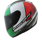 MT Thunder Tifosi Motorcycle Helmet Integral Motorbike Crash Lid Pinlock Ready