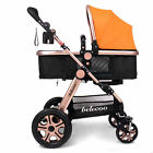 Luxury Newborn Carriage Infant Travel Car Foldable Pram Baby Stroller Pushchair