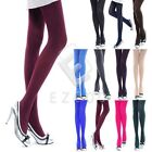 Women's Skinny Slim Opaque Stockings Pantyhose Tights 120D Candy Color Socks