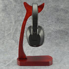 New Buckhorn-Shaped Wooden Display Holder Stand for Universal Headphone Headset