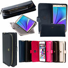 Monica Zipper POUCH Coin Bag Wallet card Pockets Leather Case for LG V20 G4 G5