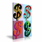 Andy Warhol's Dollar Sign Stretched Canvas Wall Art