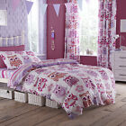Catherine Lansfield Owl Duvet Cover and Pillowcase Set