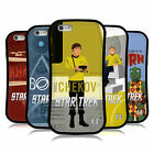 OFFICIAL STAR TREK ICONIC CHARACTERS TOS HYBRID CASE FOR APPLE iPHONES PHONES