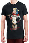 Official DC Comics Suicide Squad Harley Quinn Pose In Squad We Trust T Shirt