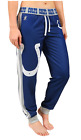 KLEW NFL Women's Indianapolis Colts Cuffed Jogger Pants, Blue