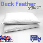 Duck Feather and Down Cotton Cover Bed Pillows Handmade