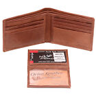 Paul&Taylor Mens Bifold Wallet RFID Blocker Removable ID Cover