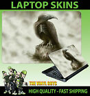 LAPTOP STICKER SKIN GHOST RAVEN DARK HORROR GOTHIC REAPER VINYL VARIOUS SIZES