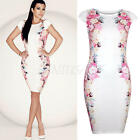 Sexy Women Bandage Bodycon Short Sleeve Evening Party Cocktail Mini Dress