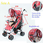breathable baby stroller rain cover dust cover for stroller Wind Shield