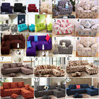 SOFA COUCH SLIP OVER EASY FIT STRETCH COVER ELASTIC FABRIC FIT L-SHAPED SOFA