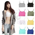 Women Stretch Slim Exercise Yoga Workout Tank Top Sports Bra Wholesale Casual