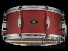 George H. Way 14 x 6.5 Studio Snare Drum - Red Sparkle