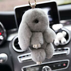 Fashion Keychain Copenhagen Real Bunny Rex Rabbit Furs Phone Car Handbag Pendant