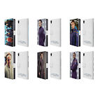 OFFICIAL STAR TREK ICONIC CHARACTERS ENT LEATHER BOOK CASE FOR SONY PHONES 1