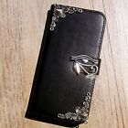 Horus Eye phone wallet Leather flip case Cute Back cover For HTC one M8 M10 A9