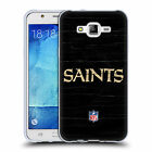 OFFICIAL NFL NEW ORLEANS SAINTS LOGO SOFT GEL CASE FOR SAMSUNG PHONES 3