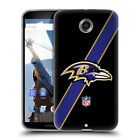 OFFICIAL NFL BALTIMORE RAVENS LOGO SOFT GEL CASE FOR MOTOROLA PHONES