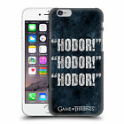 OFFICIAL HBO GAME OF THRONES HODOR HARD BACK CASE FOR APPLE iPHONE PHONES