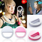 Portable White Selfie Fill Light LED Flash Ring Lighting For IPhone Mobile Phone