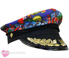TROPICAL CAPTAIN HAT HAWAIIAN SAILOR CAP SUMMER BBQ FANCY DRESS COSTUME NOVELTY