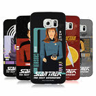 OFFICIAL STAR TREK ICONIC CHARACTERS TNG HARD BACK CASE FOR SAMSUNG PHONES 1
