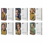 OFFICIAL STAR TREK CAPTAIN KIRK LEATHER BOOK CASE FOR APPLE iPOD TOUCH MP3