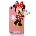Cartoon Disney Silicone Soft Dropproof Kid's Cover Case For iPod Touch4/5/6 UK