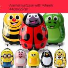 "New Kids boys girls animal Wheeled Suitcases Rolling Luggage 17""/H44*L29*W23cm"