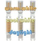 1X 4X 10X 3W 4W LED G9 CAPSULE BULBS WARM WHITE DAYLIGHT LIGHT BULB - NEW