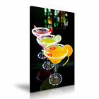 Cocktail Drink Stretched Canvas Wall Art