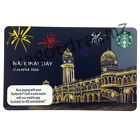 Starbucks Malaysia 2016 National Day Independent Card Limited Edt With Sleeve