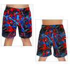 Official Licensed Marvel Ultimate Spider-Man Boys Swim Shorts Superhero Trunks