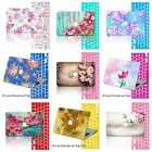 "Floral Pattern Rubberized Hard Case +KB Cover For Macbook Pro Air 11"" 12"" 13"" 15"