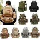 Outdoor Multifunction Military Tactical Backpack Sports Camping Hiking Bag K0L0