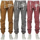 **Mens Boys Designers G Rock Cuffed Branded Cotton Trousers Pants/Jeans Chinos**