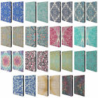 OFFICIAL MICKLYN LE FEUVRE FLORAL PATTERNS LEATHER BOOK CASE FOR APPLE iPAD