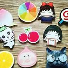 1 Pc Women Acrylic Badge Lapel Brooches Stick Pin Love Cosplay Jewelry