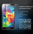 SAMSUNG GALAXY S5 BALLISTIC TEMPERED GLASS SCREEN PROTECTOR GUARD 9H HARDNESS