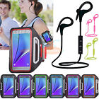 Bluetooth Wireless Stereo Headset + Sports GYM Armband for Samsung Galaxy phone
