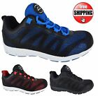 MENS GROUNDWORK ULTRA LIGHTWEIGHT STEEL TOE CAP SAFETY WORK SHOES BOOTS TRAINERS